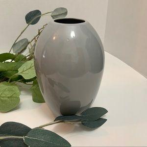 Vintage CDP Natural White Clay Gray Modern Vase